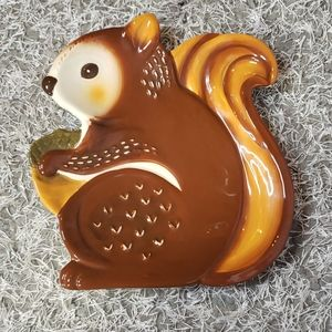 Better Homes & Gardens Squirrel Plate